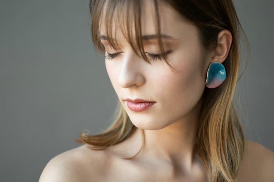 Earrings 'Sunset''