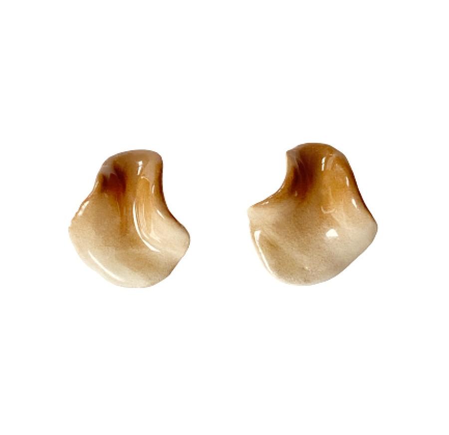 Mini earrings 'Dunes'